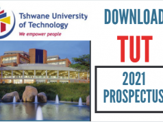 Download Tshwane University of Technology, TUT Prospectus 2021