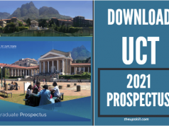 Download University of Cape Town, UCT Prospectus 2021