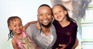 SK Khoza Explains Why His Daughters Can't Watch The Queen,See How Cute They Are