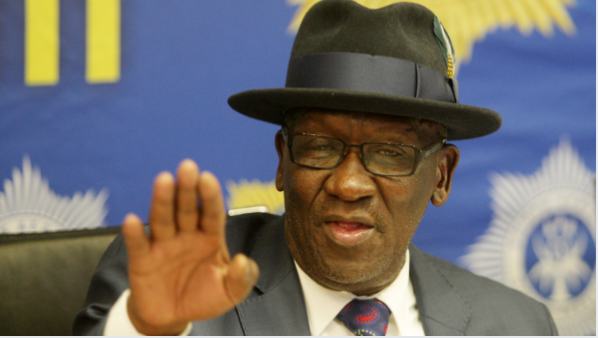 Have You Seen This? Bheki Cele Sends Zodwa Wabantu A Message!