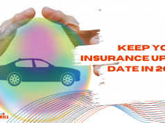 Keep your Insurance up to date